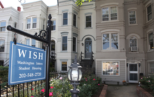 home stay dc international student housing washington d